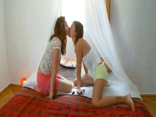 eager russian lesbian wet crack gagging