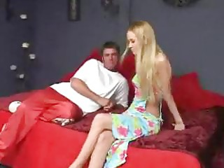 non-professional blond acquires feet lickedsucks