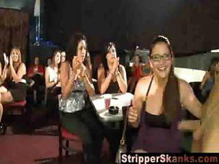 whores grope and engulf the hawt strippers