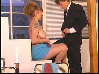 euro honey seduces younger boy - dbm movie scene